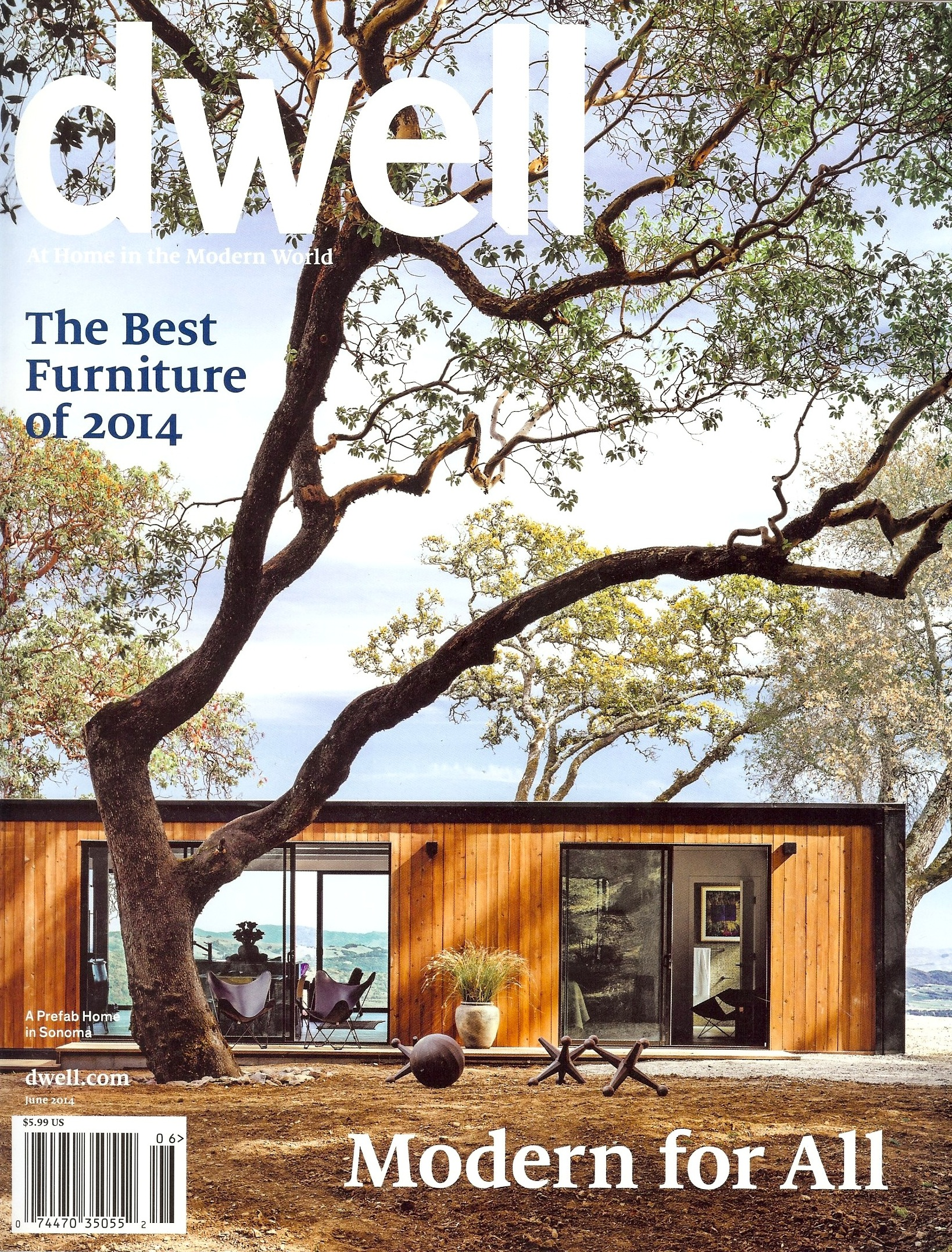 Dwell June 2014 cover